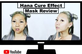 Beauty Review: Hana Cure Effect Korean Lifting Face Mask